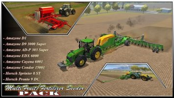 MultiFruit/Fertilizer Seeder Pack V1.0 LS2013
