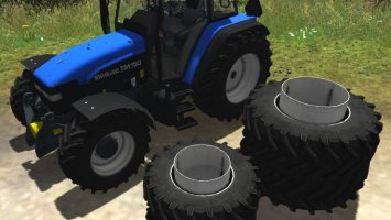 New Holland TM150 More Realistic