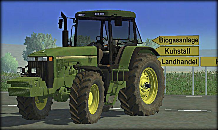 John Deere 8100 (MR) - LS2013 Mod Mod for Landwirtschafts Simulator