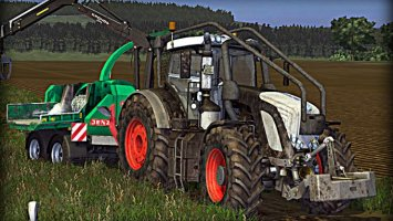 Fendt 936 Vario Black Beauty (Washable) Forest