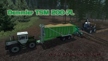 Demmler TSM 200 7L v2.0 Hackschnitzel More Realistic