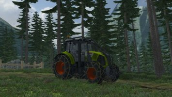Claas Axion 850 Forest