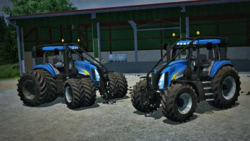 New Holland T8050 Forst