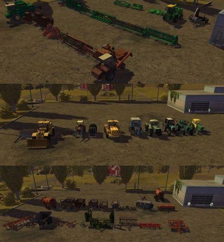 Soviet Technic Pack - LS2013 Mod   Mod for Farming Simulator