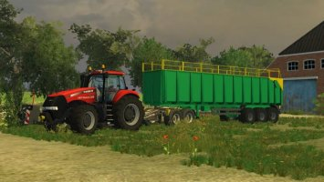 Selfmade silage trailer