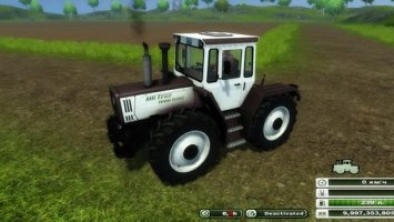 MB Trac 1600 Turbo White v3