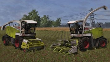Claas Jaguar 870 Pack [Washable] LS2013