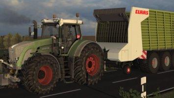 Claas Cargos 9500 ls2013