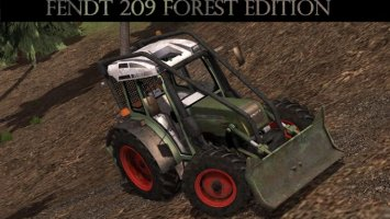 Fendt 209 Forest Edition v1.32 Forst