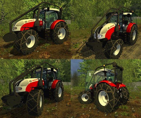 Steyr 6210 Forst Version
