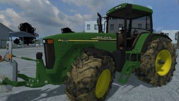 John Deere 8110 MR + weight MR