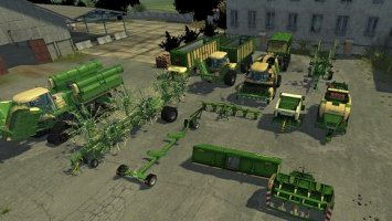 Krone Pack grass and maize