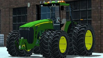 John Deere 8530 Washable
