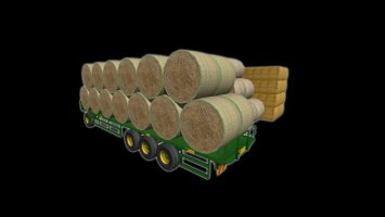 NC Engineering 41ft bale trailer ls2013