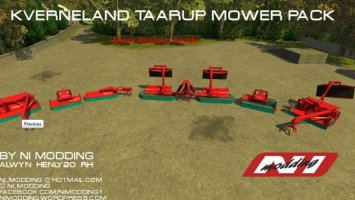 [MR] Kverneland Taarup Mower Pack ls2013