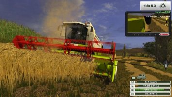 Claas Lexion 550 MR LS2013
