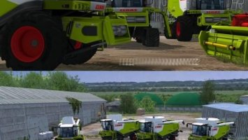 CLAAS LEXION 7 SERIES MEGA PACK More Realistic LS2013
