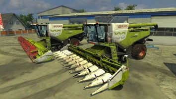 Claas Lexion 780 TerraTrac 100 year v4 LS2013