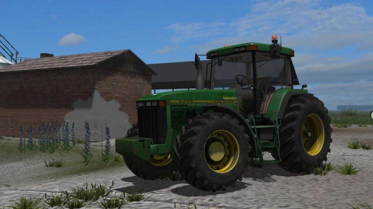 John Deere 8400 - LS2013 Mod | Mod for Farming Simulator