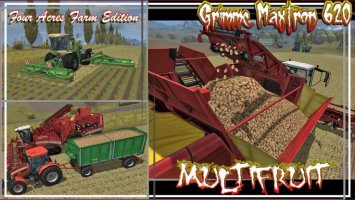 GRIMME MAXTRON 620 MULTIFRUIT PACK FOUR ACRES FARM USA