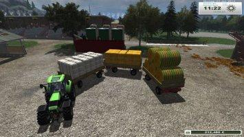 Krone Emsland bale trailer v2.5