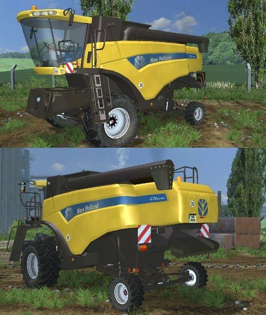 New Holland Hillside cx5080 Dirt