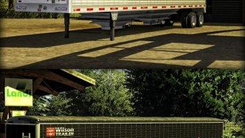 Wilson 2 axle grain trailer
