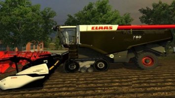 Claas Lexion 780 Terra Trac Black Edition Pack LS2013
