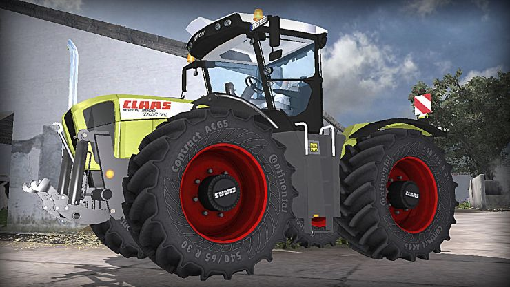 Claas Xerion 3800 V2 MR LS2013