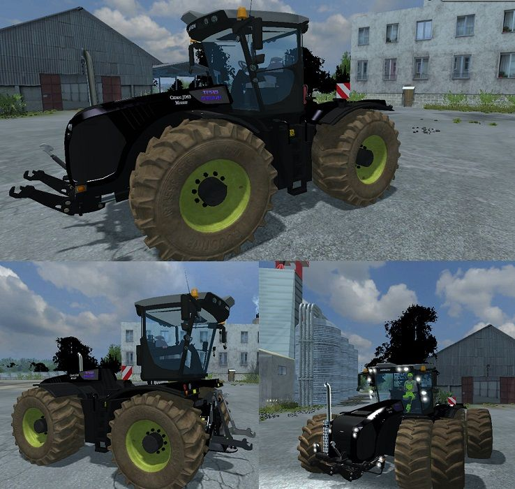 CLAAS XERION 5000 BLACK EDITION