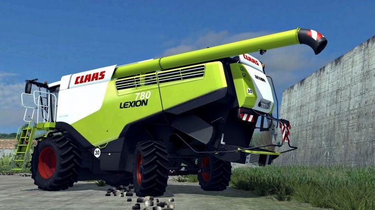 CLAAS LEXION 780 V2 LS2013