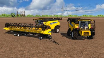 New Holland CR Combines More Realistic ls2013