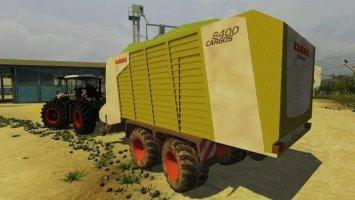 Claas Cargos 8400 ls2013