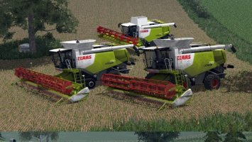 Claas Lexion Elite Pack ls2013