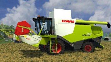 Claas Lexion 660 ls2013