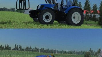 New Holland T6.165 FL LS2013