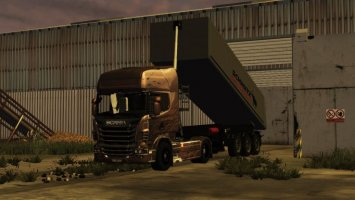 Scania R730 Black Amber LS2013