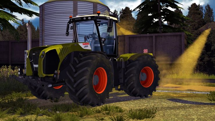 CLAAS XERION 5000 v5.0 LS2013