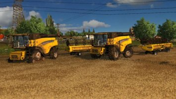 New Holland CR Combines V2.0 Washable LS2013