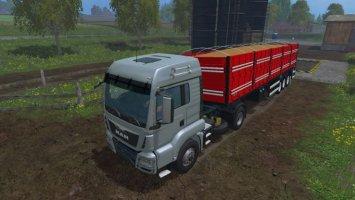 Grain trailer Randon Line R