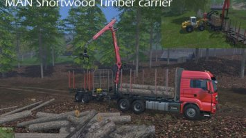 MAN Shortwood Timber carrier ls15