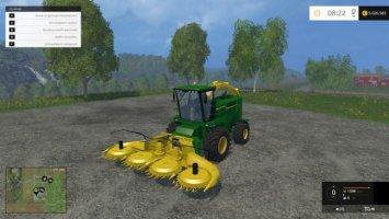 John Deere 7180 Kemper 460plus v1.1 ls15