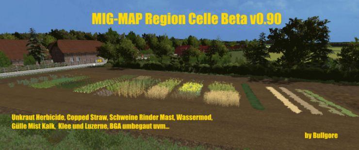 mig map madeingermany region celle mp beta ls15 mod mod for farming simulator 15 ls. Black Bedroom Furniture Sets. Home Design Ideas