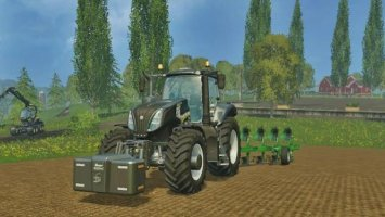 New Holland T8.320 Black Edition ls15