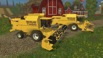 New Holland TX65 pack