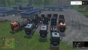 Scania 730 mit Trailern v1.1 ls15