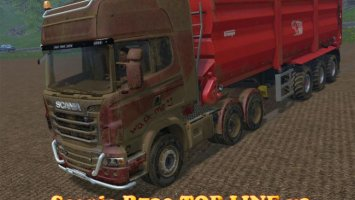 Scania R730 TOP LINE v2 ls15