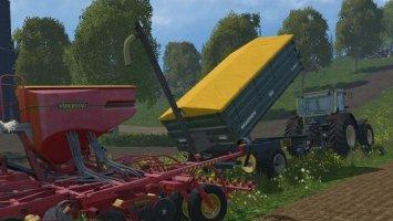 Brantner E8041 seed trailer