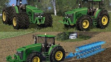 John Deere 8370R v2 (Ploughing Spec) ls15