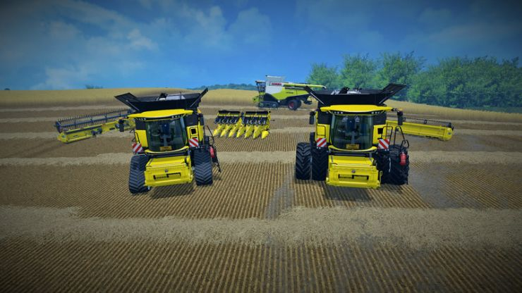 New Holland Cr 1090 V1 0 1 Mod Mod For Farming